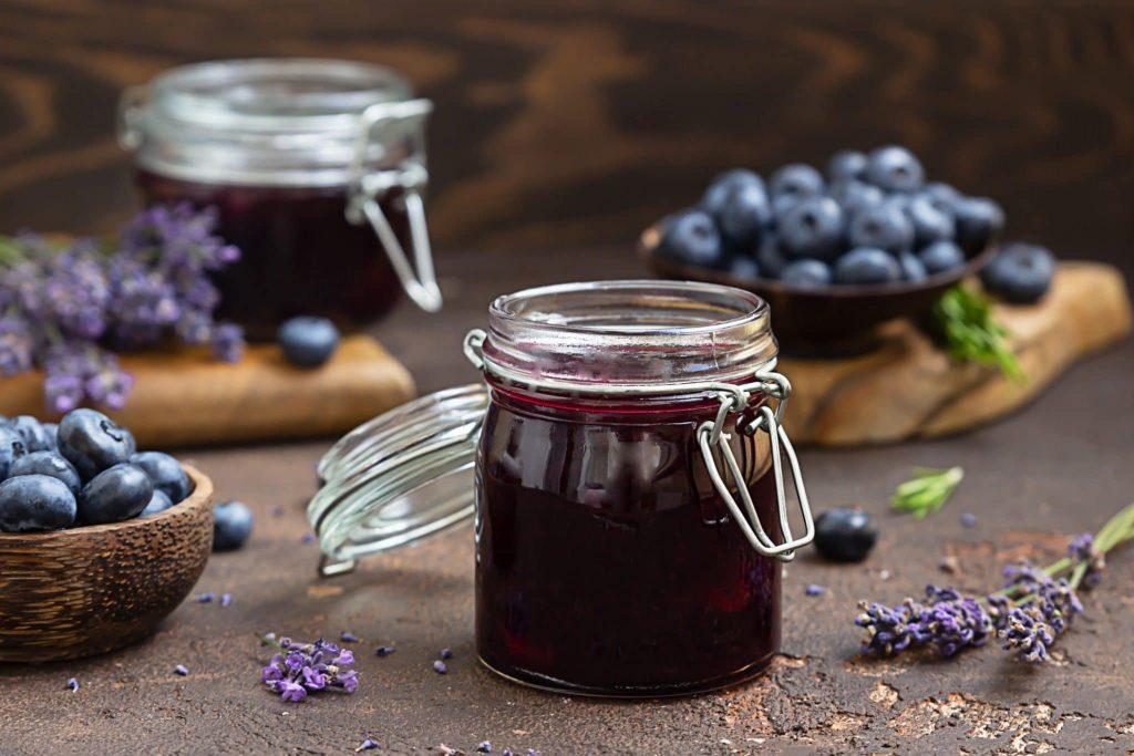 Blueberry Chia Jam Lavendar
