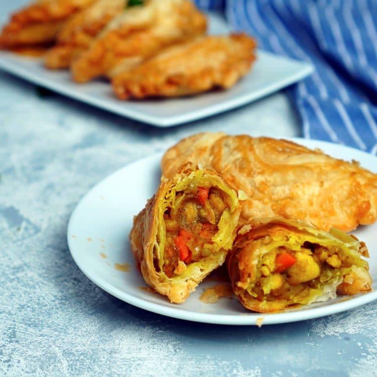 Simple Homemade Thai Curry Puffs