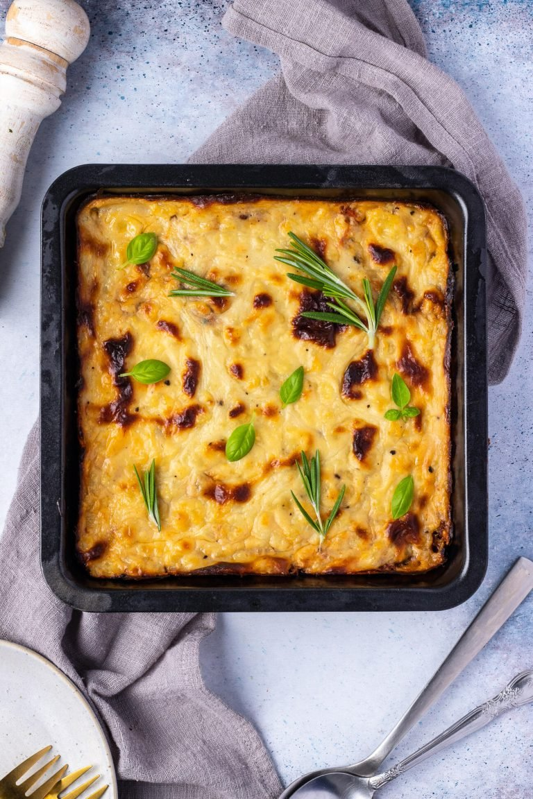 Homemade Vegan Moussaka