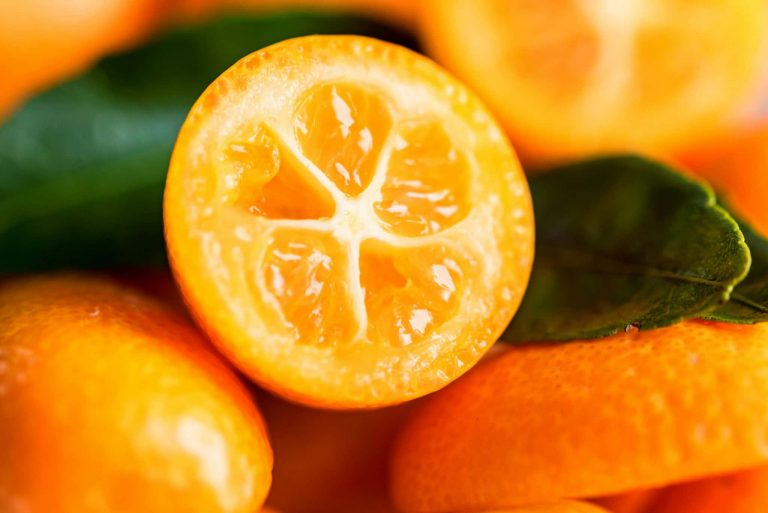 Sweet Preserved Kumquats