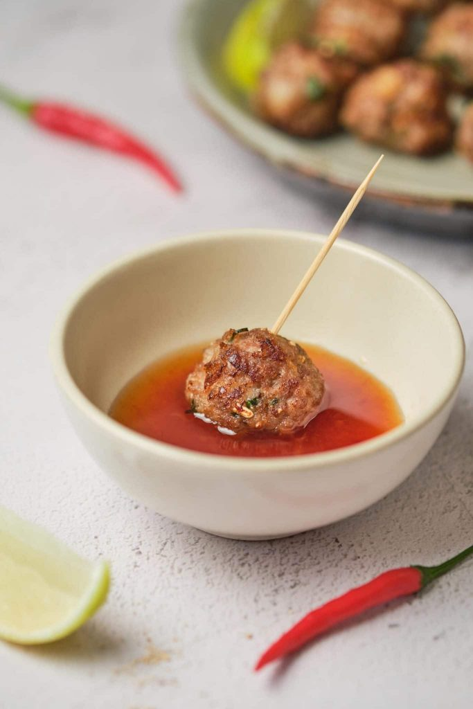 Meatballs Are Served