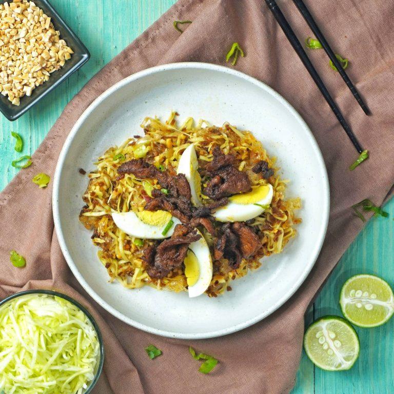 Simple Banh Trang Tron Salad