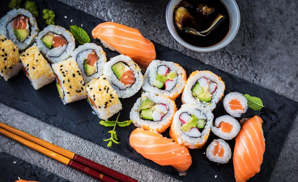 Love Eating Sushi More