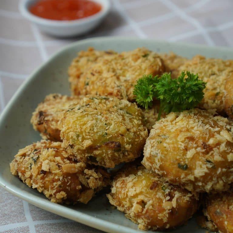 Homemade Breadfruit Puffs