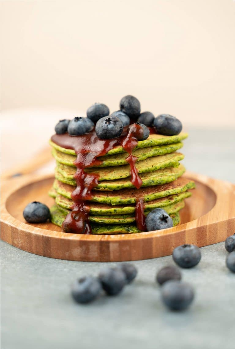 Simple Finnish Spinach Pancakes