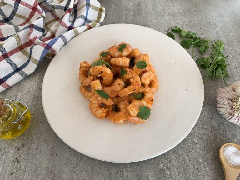 Simple Harissa Shrimp