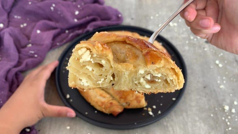 Homemade Bulgarian Banitsa