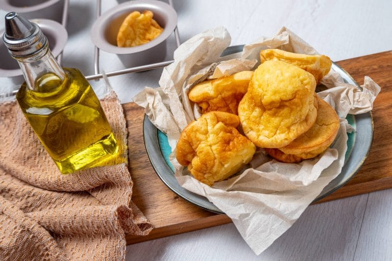 Homemade Olive Oil Popovers