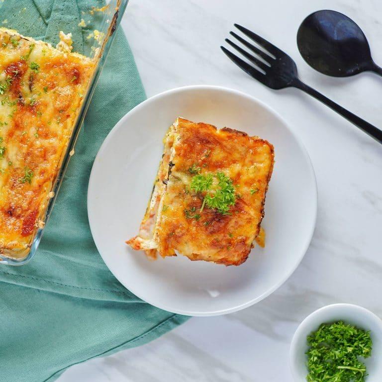 Homemade Polenta Lasagna